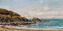 John Brett (1830-1902), A coastal view,