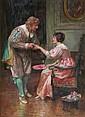 Francis Sydney Muschamp (1851-1929) A courtship