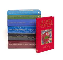 Rowling (J.K.) - [A full set of the deluxe edition Harry Potter novels],