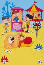 Magic Roundabout.- - a group of illustrations,