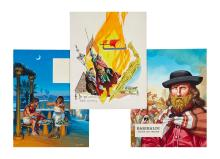 McBride (Angus) - a group of illustrations of historical subjects,