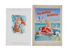 The Water Babies.- - a group of illustrations,