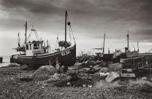 Rowan Isaac (active since the 1990s) - Fishing boats, Hastings, ca. 2000,