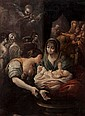 Bolognese School (17th century). Birth of the