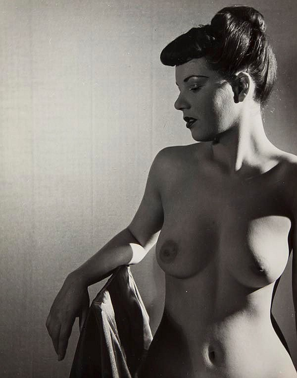 Stephen Glass (active 1940s). A group of nudes,