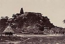 Linnaeus Tripe (1822-1902). Pagoda at Veerali