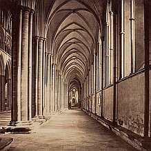 Roger Fenton (1819-1859). The South Aisle,