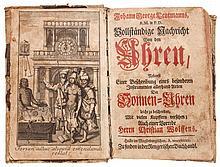 Leutmann (Johann George) - Vollständige Nachricht von den Uhren
