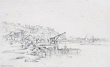 Hugh O'Neill (1784-1824) - Bristol from the New Docks,