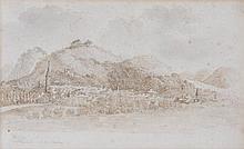 Agostino Aglio (1842-1885) - Eisenach and die Wartburg,