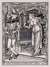 Walter Crane (1845-1915) - Anne: Will't please your worship to come in, Sir?