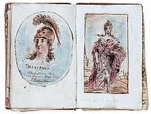 French School (c.1790-1830) - An album of drawings and prints,