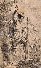 Benjamin West (1738-1820) - St. John the Baptist,