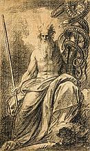 Benjamin West (1738-1820) - Moses Showing the Brazen Serpent,