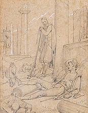 Richard Westall (1766-1836) - Byron's Dream,
