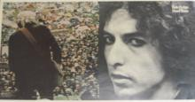 Dylan, Bob - A 'Hard Rain' album proof of Bob Dylan featuring a close-up image...