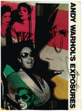 Warhol, Andy - ANDY WARHOL'S EXPOSURES, First Edition, signed by Warhol in black...