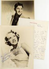 Anka, Paul & others - Collection of photographs and cards signed by singers and...