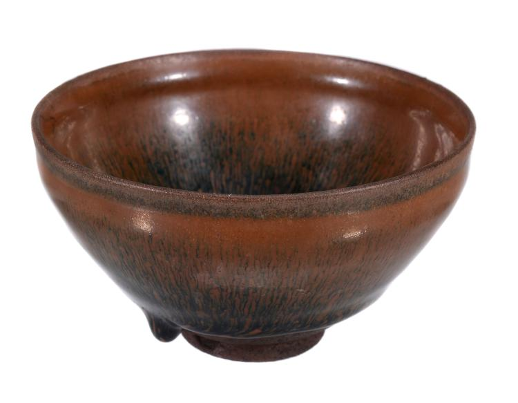 A Chinese Jianyao 'Hare's Fur' bowl, Southern Song Dynasty