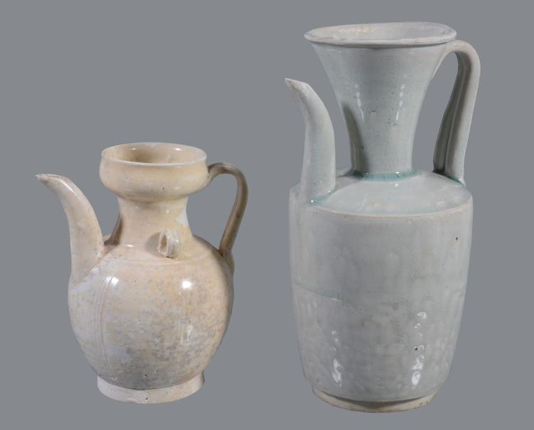 A Chinese Qingbai ewer , Song Dynasty 11-12th century