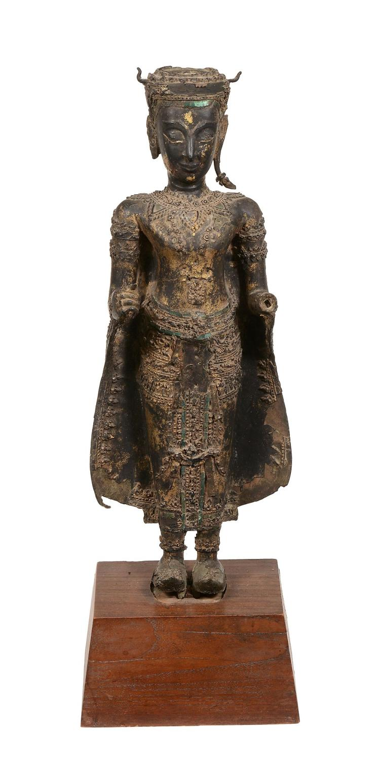 An Ayuthia style figure of Buddha, Thailand,17th/ 18th century