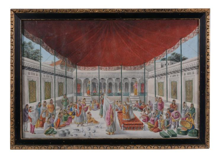 Company School, circa 1820, Patna, Sewak Ram, or follower of