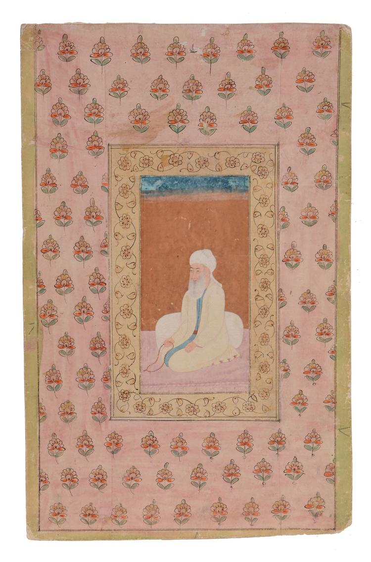 An Indian painting of Mughal, Northern India, 18th century