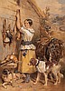 Frederick Taylor (19th century) - The Gamekeeper's Daughter, Frederick Taylor, Click for value