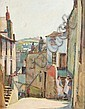 John Anthony Park (1880-1962), Cornish street, John Anthony Parke, Click for value
