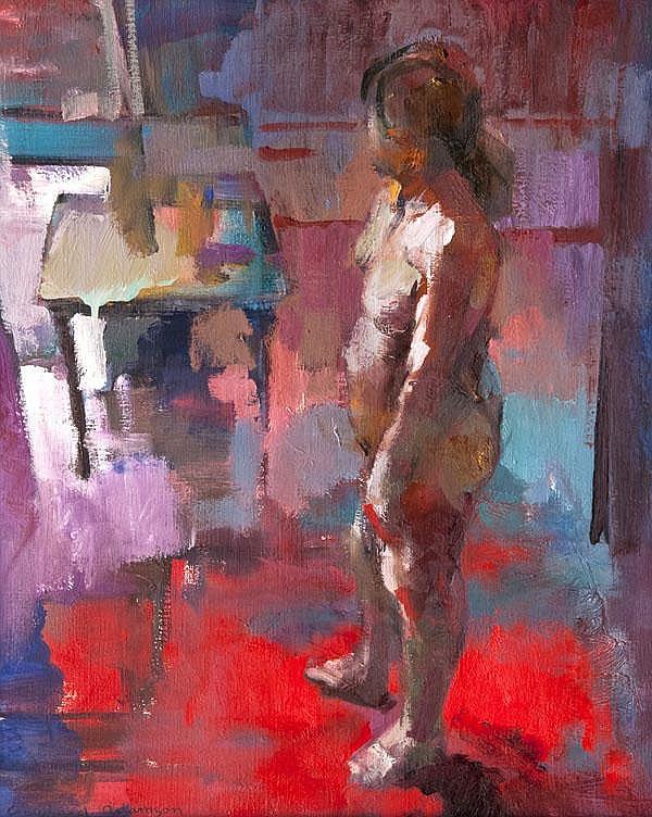 DDS. Crawfurd Adamson (b. 1953) Standing figure,