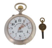 Railway memorabilia : a gentlemans key-wound pocket watch