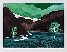 John Brunsdon (b.1933) - Gordale Scar