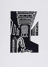 Edward Bawden (1903-1989) - The Dinning Room Which Opened Out Of The Hall Was a Place Of Shadow & Gloom