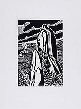 Edward Bawden (1903-1989) - Our Friend, Sir Henry & The Lady Had Halted On The Path