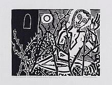 Edward Bawden (1903-1989) - Sir Lancelot Was As Wild Mad As Ever Was Man