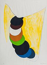 Sir Terry Frost (1915-2003) - Yellow Curtain (k.67)