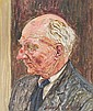 Carel Weight RA (1908-1997) Portrait of an actor,