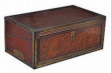 A fine Regency mahogany and gilt bronze mounted
