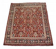 A Mahal carpet, approximately 202 x 374cm