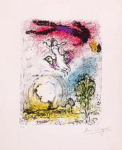 Marc Chagall (1887-1985) - La Poesie (m.898)