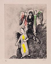 Marc Chagall (1887-1985) - La descente vers Sodome (v.206)