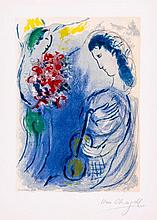 Marc Chagall (1887-1985)(after) - Angel of Music (c.s.25)