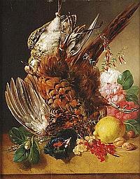 François Joseph Huygens (1820-1908) A still life