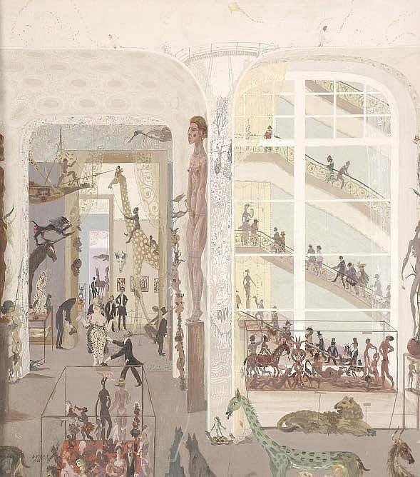 Reinhold Nägele the Younger (1884-1972) Das Museum