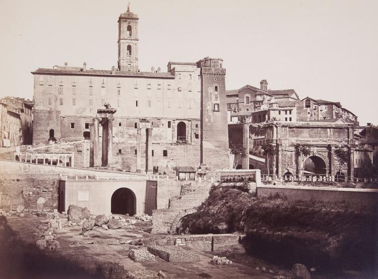 Robert Turnbull Macpherson (1814-1872) - Rome, ca.1859