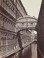 Carlo Ponti (1823-1893) - The Bridge of Sighs, 1860; Piazza San Marco, ca.1862