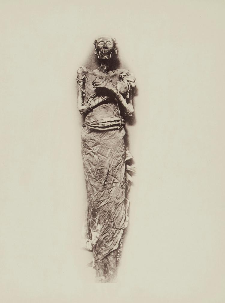 Emil Brugsch (1842-1930) - Ramses II, 1889; Seti I, 1881