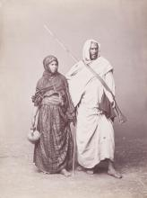 Emile Bechard (active 1860s-80s) attributed to - Egypt, ca.1870