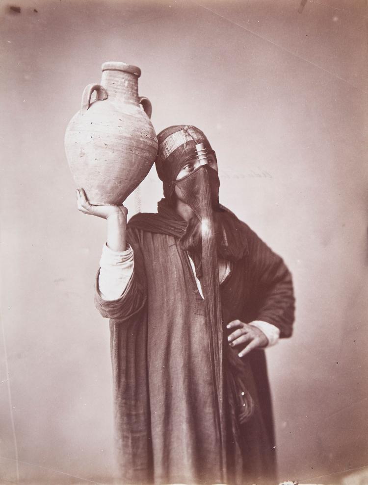 Felix Bonfils (1831-1885) - Water Carrier, Cairo, ca.1870