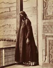 Henri Bechard (active 1869-1890) - Femme Arabe, Egypt, ca.1870